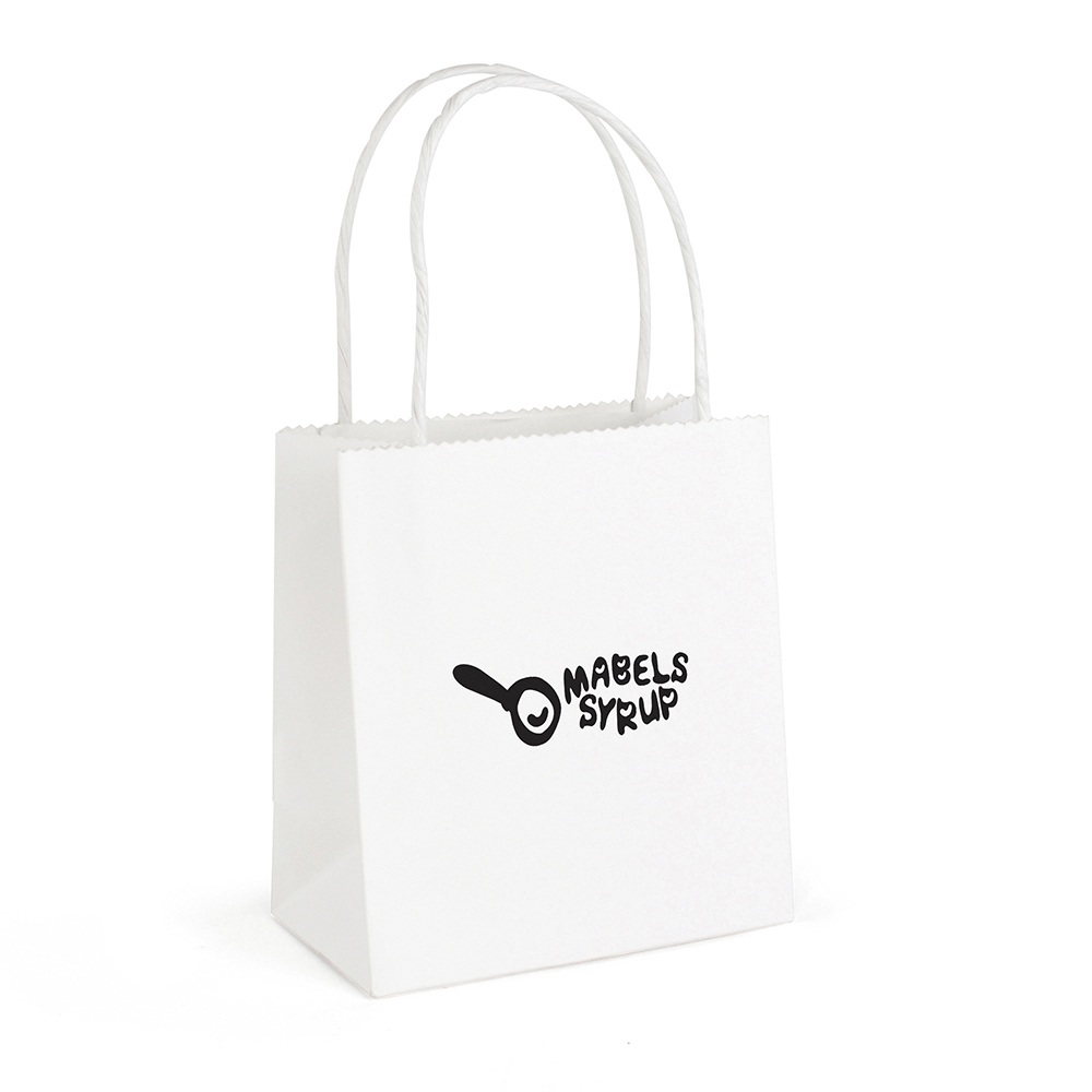 BRUNSWICK SMALL WHITE PAPER BAG