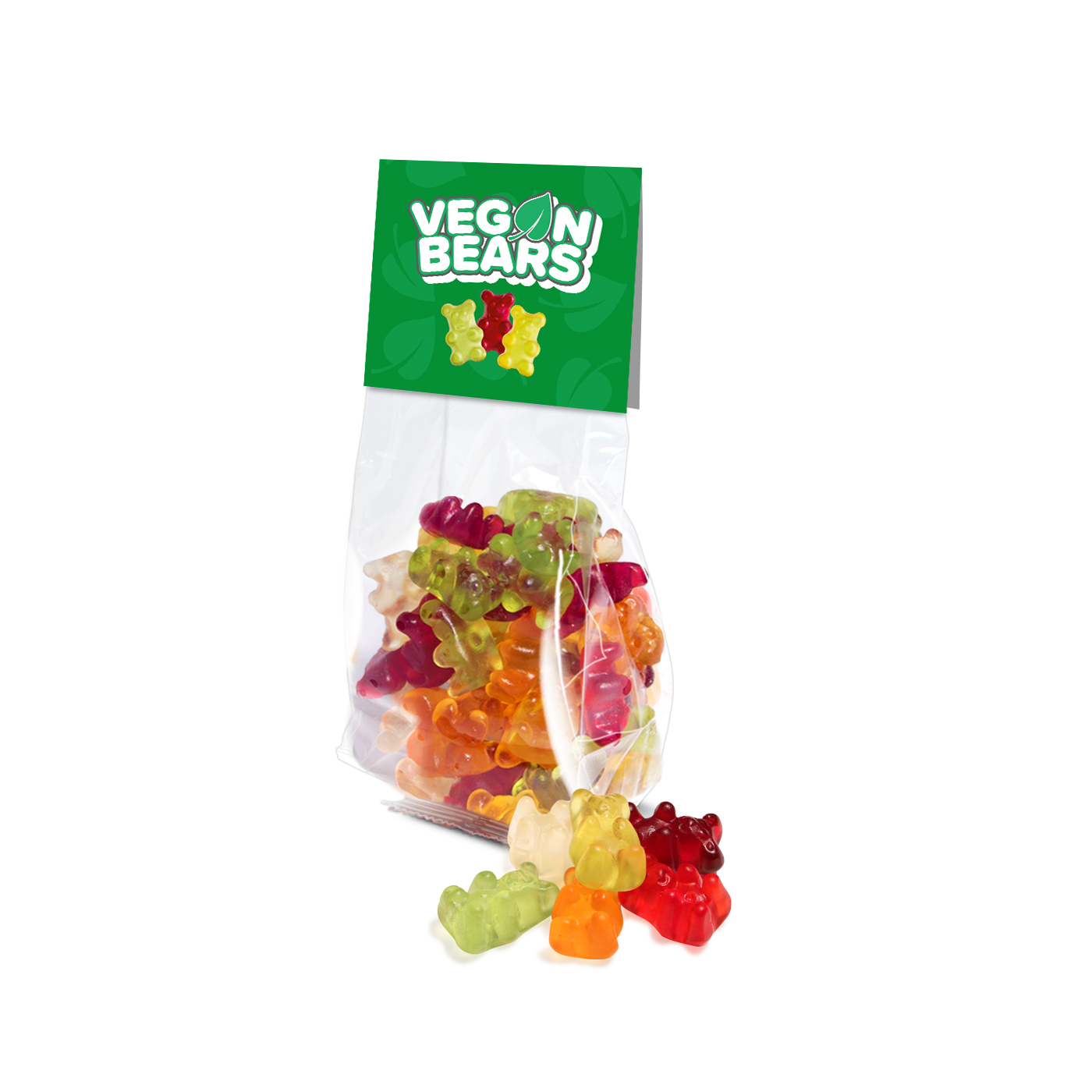 ECO SATCHEL BAG - VEGAN GUMMY BEARS