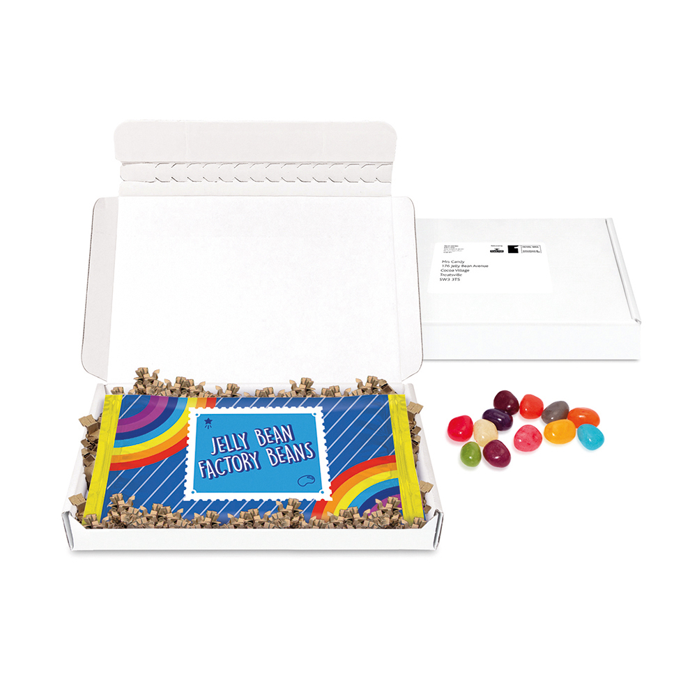 MINI POSTAL BOX - JELLY BEAN FLOW BAG