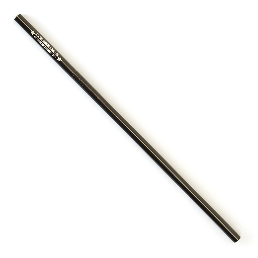 COLOURED METAL STRAW