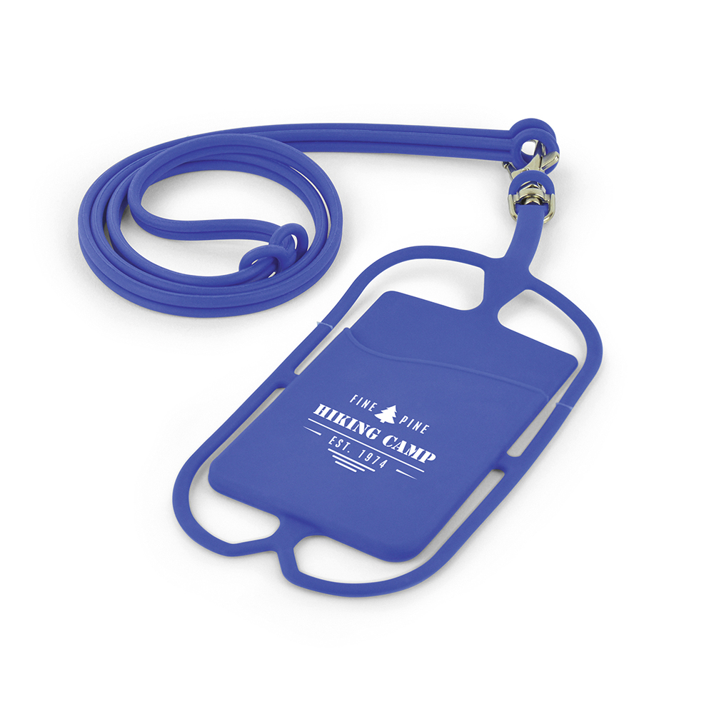 SILICONE PHONE HOLDER LANYARD
