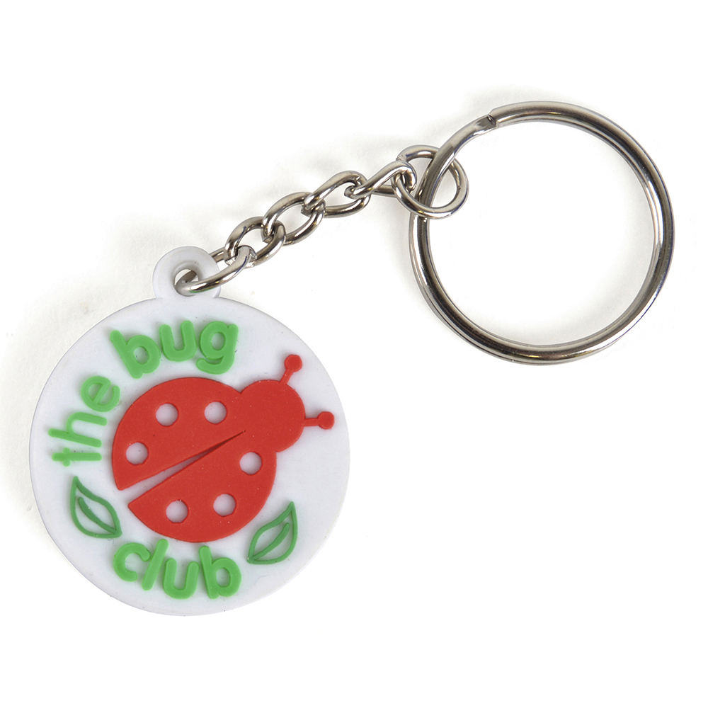 SMALL PVC KEYRING - Click Image to Close